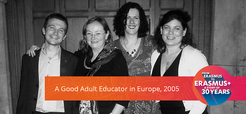 Erasmus+ Experience in the field of Adult Education 2005