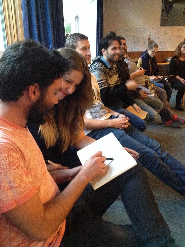 Photo of people attending workshop