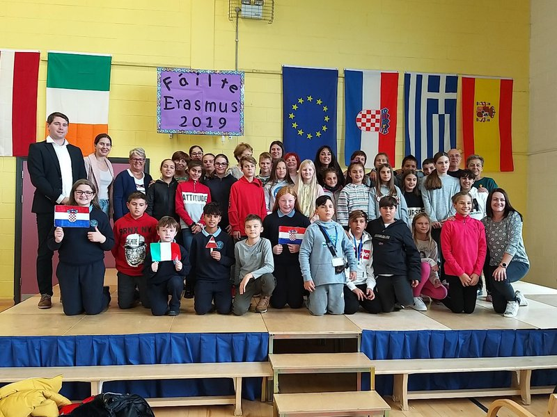 Schools in the EU came together thanks to Erasmus+