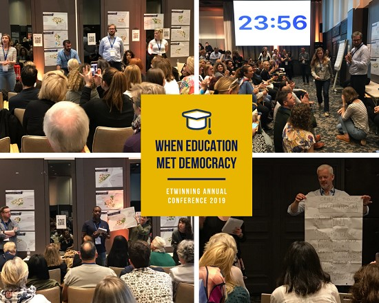When Education met Democracy - eTwinning Annual Conference 2019