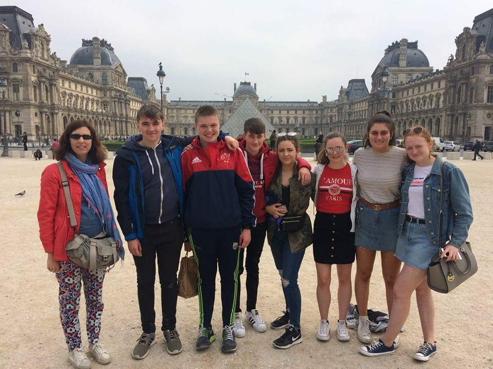 2017 European Day of Languages Winners visit Le Monde